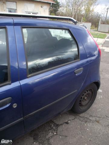 Fiat Punto II ajtó! Bal hátsó, Sötétkék!Az ár a csupasz lemezt...