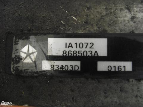 Chrysler Voyager 2.5 CRD intercooler!