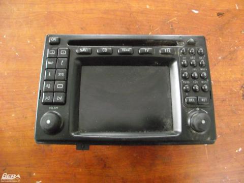 Mercedes W210 E-osztály gyári navigáció, cd lejátszó telefon! A...