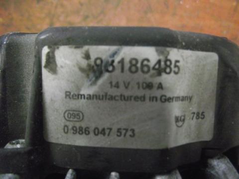 Opel Astra G 1.6 generátor!