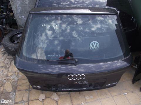 Audi A3 8L '2003' csomagtérajtó! Fekete színű! 5 ajtós!Az ajtó ára...