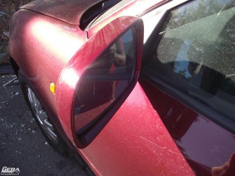 Audi A3 8L '2001' bal oldali külső visszapillantó tükör! Bordó...