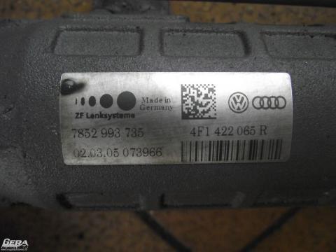 Audi A6 C6 4F '2005' kormánymű! A kormánymű beszerelési garanciája...