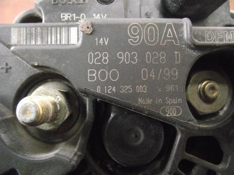 Audi, Volkswagen, Seat, Skoda 1.6 generátor!