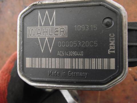 Mercedes W203 C 200 CDi EGR szelep!