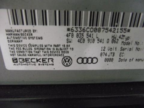 Audi A4 B8 8K navigáció dvd olvasó, K-BOX!