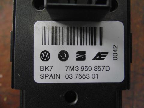 Volkswagen Sharan II ablakemelő kapcsoló!