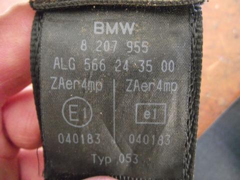 BMW E46 bal első biztonsági öv!