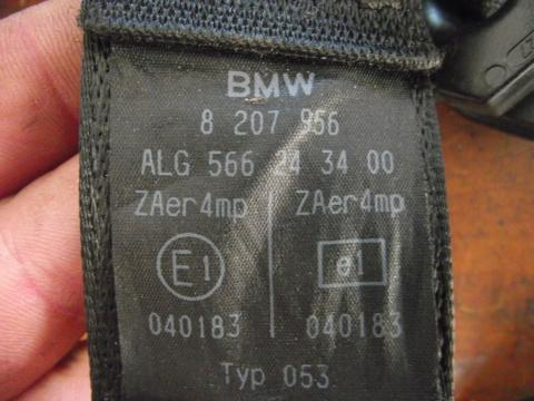 BMW E46 jobb első biztonsági öv!