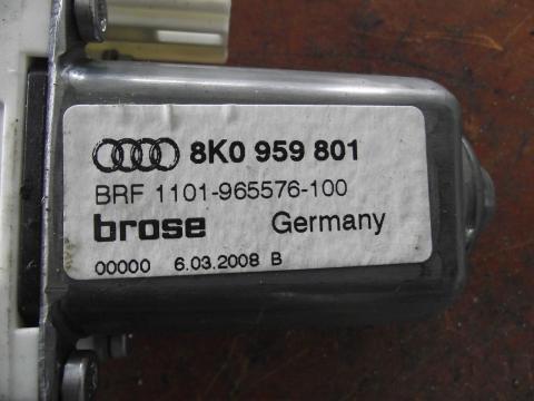 Audi A4 B8 8K elektromos ablakemelő motor!