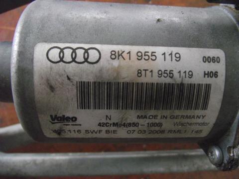 Audi A4 B8 8K első ablaktörlő szerkezet motorral!