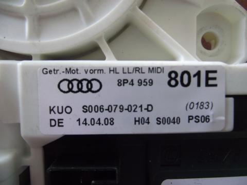 Audi A3 8P '2006' bal hátsó ablakemelő motor!