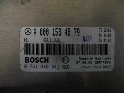 Mercedes W210 220 CDI motorvezérlő immobiliserrel!