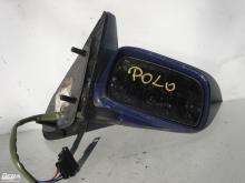Volkswagen Polo külső visszapillantó tükör! Sötétkék, jobb oldali,...