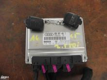 Audi A6 C5 2.5 TDI motorvezérlő elektronika, immobiliserrel 2 db...