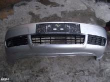 Audi A6 C5 '2002' ezüst színű első lökhárító!Lámpamosós!A lökhárító...