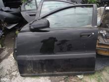 Volvo S60 ajtó! Fekete, bal első! Az ár a csupasz lemezt tartalmazza!