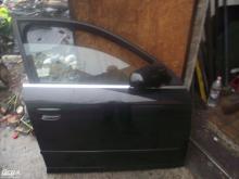 Audi A4 B7 '2006' jobb első ajtó! Fekete színű! Az ár a csupasz...