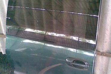 Chrysler Voyager '95-01' sötétzöld színű jobb oldali tolóajtó!...