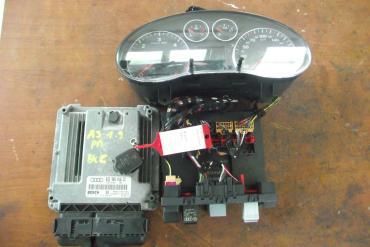 Audi A3 8P 1.9 PDTDi motorvezérlő elektronika immobiliserrel 1db...
