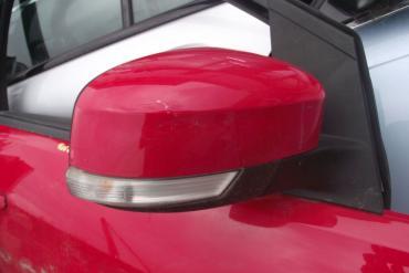 Ford Focus II '2009' külső visszapillantó tükör! Piros színű, jobb...