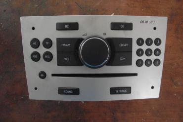 Opel Astra H, Zafira B gyári CD-S rádió! CD30 MP3!Ki kell kódolni!!!!