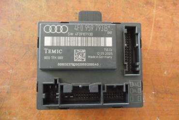 Audi A6 C6 4F '2005' bal első ajtóvezérlő egység!
