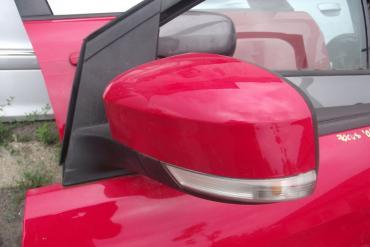 Ford Focus II '2009' külső visszapillantó tükör! Piros színű, bal...