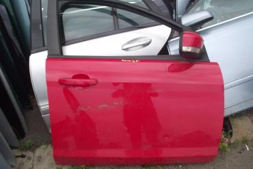 Ford Focus II '2009' jobb első ajtó! Piros színű! Az ár a csupasz...