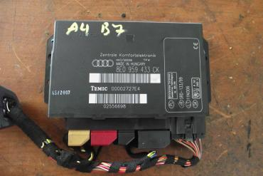 Audi A4 B7 8E komfort elektronika!