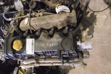Fiat Stilo 1.9 JTD motor!