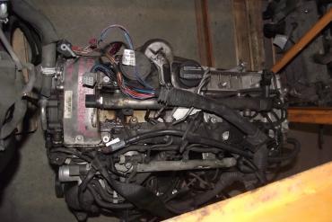 Mercedes CLK 2.7 CDi motor!
