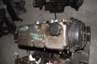 Chevrolet Aveo, Daewoo Kalos 1.2 motor!