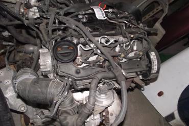 Volkswagen Passat CC 2.0 TDi motor!