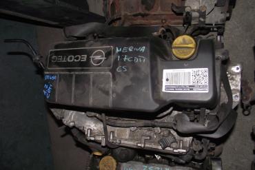 Opel Meriva 1.7 CDTi motor!